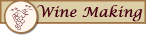 Wine Making Button - Wine Consulting